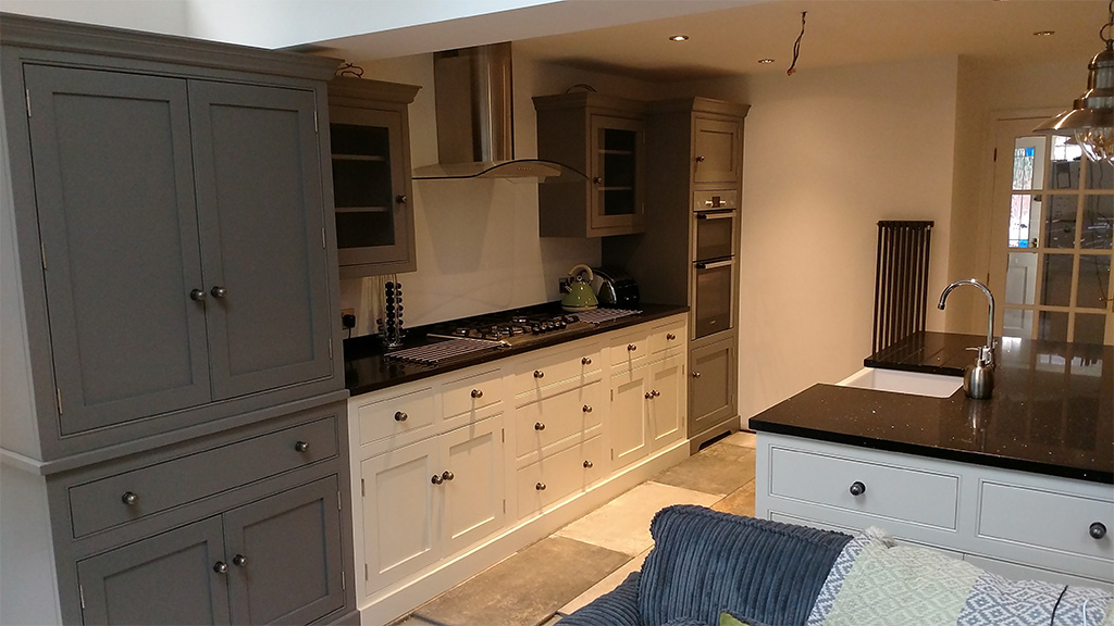 Staffordshire traditional country kitchen larder